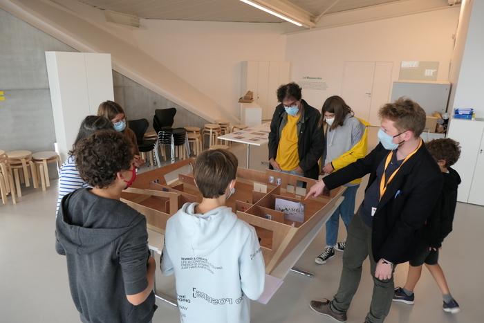 Visite-Atelier « Maquette, ma quête : la fabrique de l'exposition »