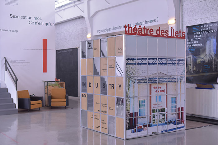 Journées du patrimoine 2020 - L'Industry Box : Boîte à sons et à images immersive pour un·e ou deux spectateur·trice·s,