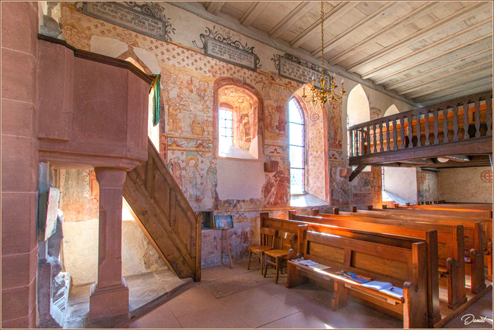 Journées du patrimoine 2020 - Visite libre de l'église protestante historique de Weiterswiller