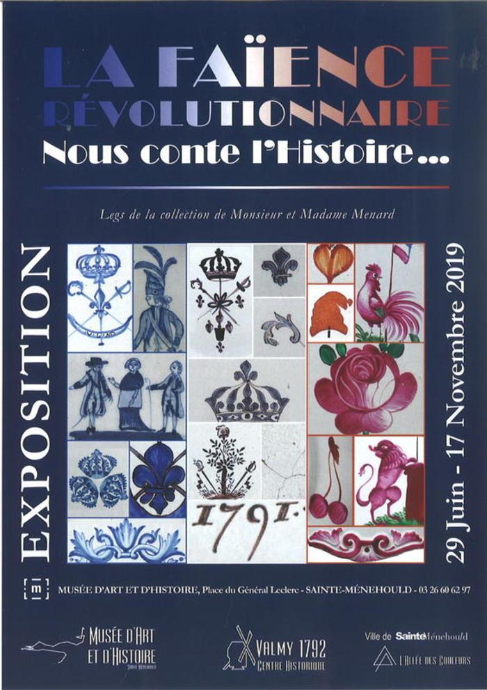 Journées du patrimoine 2019 - Visites guidées de l'exposition 'La Faïence Révolutionnaire nous conte l'Histoire ...'