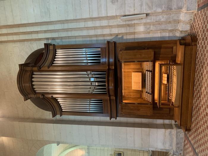 Journées du patrimoine 2020 - Présentation de l'orgue de Vouvant