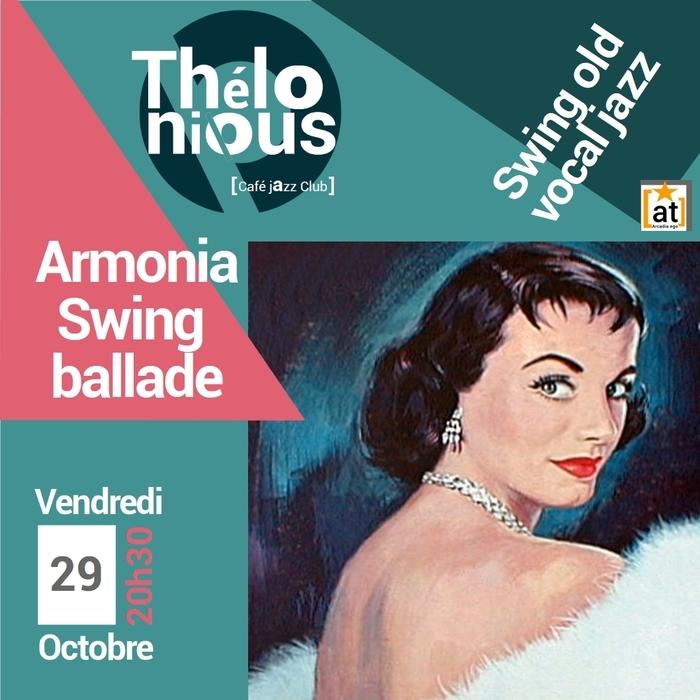 ARMONIA SWING BALLADE– THELONIOUS CAFE JAZZ CLUB