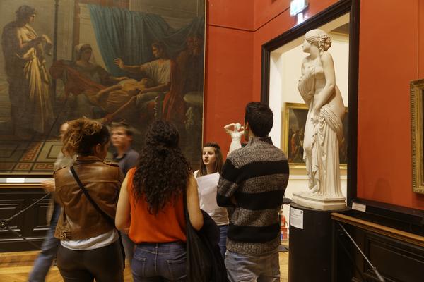 Nuit des musées 2019 -Petites conversations avec les étudiants en art