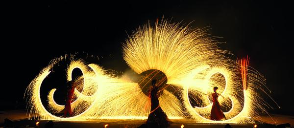 Nuit des musées 2019 -Spectacle feux et lumières