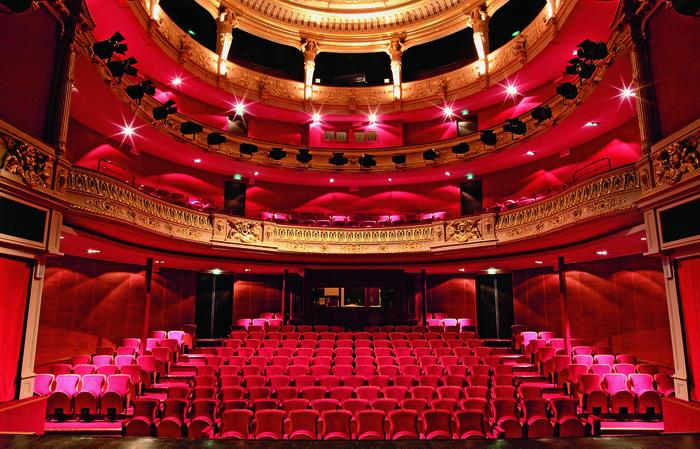Journées du patrimoine 2020 - Visite guidée du théâtre Jacques-Coeur par une guide-conférencière du service Ville d'art et d'histoire de Bourges