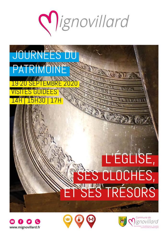 Journées du patrimoine 2020 - Visite guidée de l'église Saint-Michel de Mignovillard