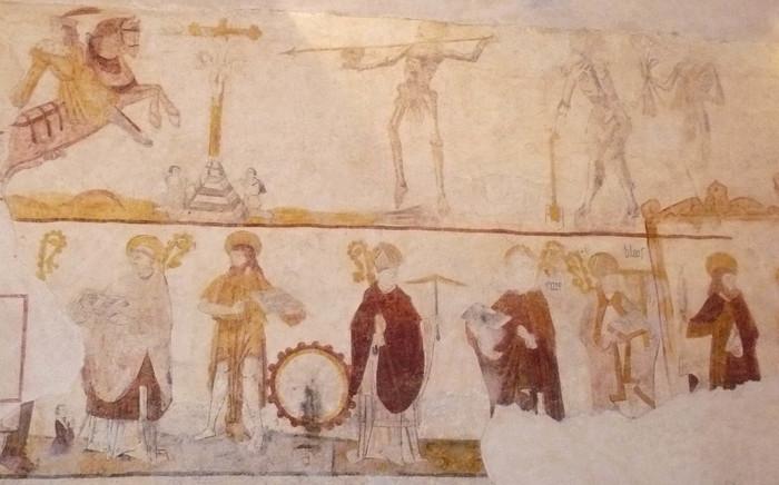 Journées du patrimoine 2020 - Découverte des peinture murales de l'église de Thenissey