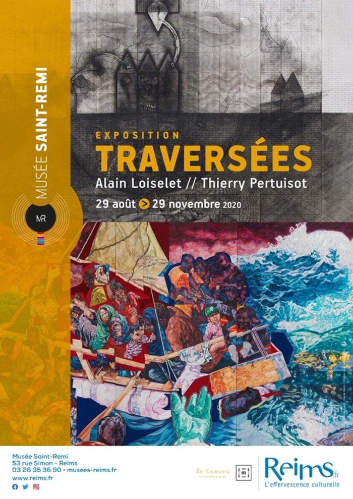 Journées du patrimoine 2020 - Exposition « Traversées » d'Alain Loiselet et Thierry Pertuisot
