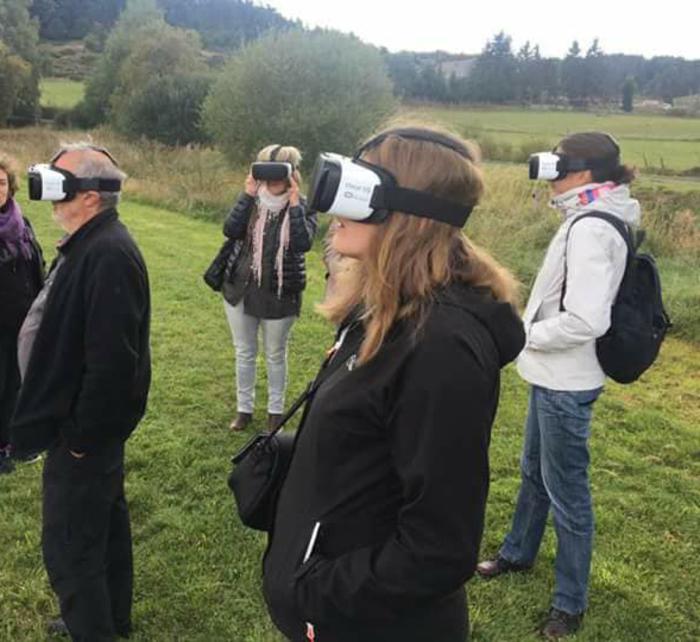 Journées du patrimoine 2019 - Visite guidée du site avec des casques 3D