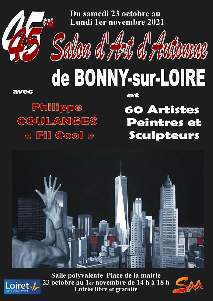Pour cette 45e édition, le public pourra découvrir les oeuvres de Philippe Coulange et de soixante artistes peintres et sculpteurs.