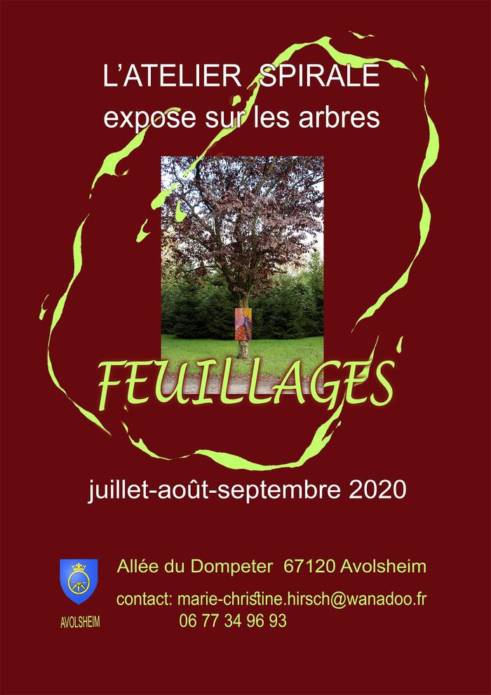 Journées du patrimoine 2020 - Exposition de peinture sur les arbres