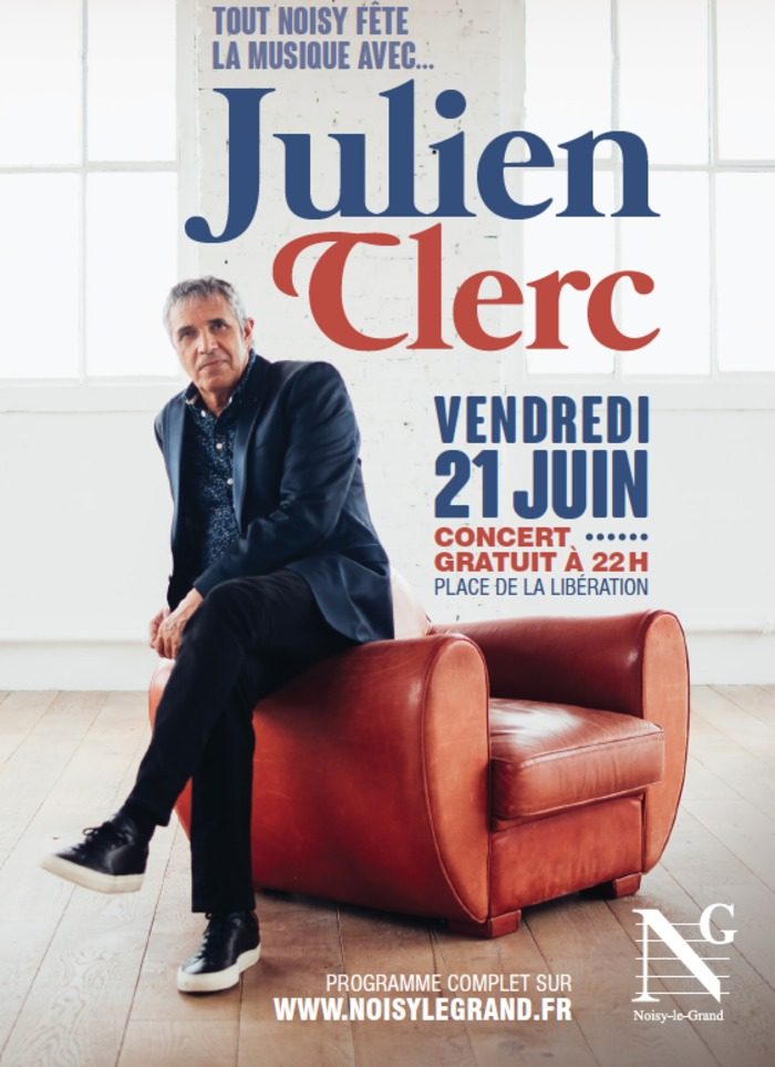 Fête de la musique 2019 - Julien Clerc + Freshkiss