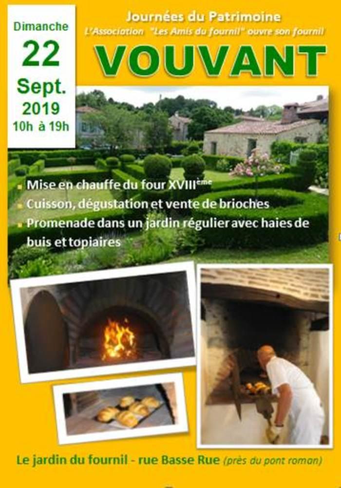 Journées du patrimoine 2019 - Journée du Patrimoine VOUVANT : Mise en chauffe du four et démonstration de cuisson de brioches