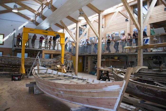 Journées du patrimoine 2019 - Visite guidée de l'Atelier des Barques