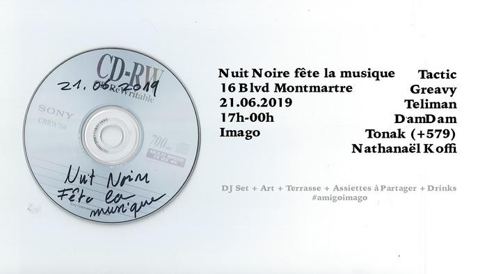Fête de la musique 2019 - Nuit noire
