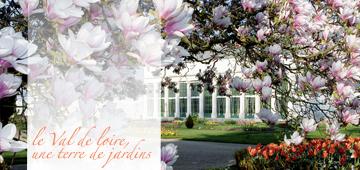 Le Val de Loire, une terre de jardins