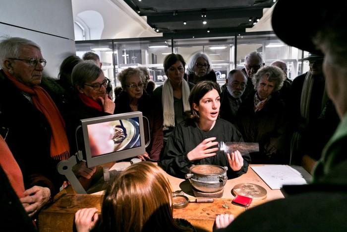 Journées du patrimoine 2019 - Démonstration de gravure au 11 Conti