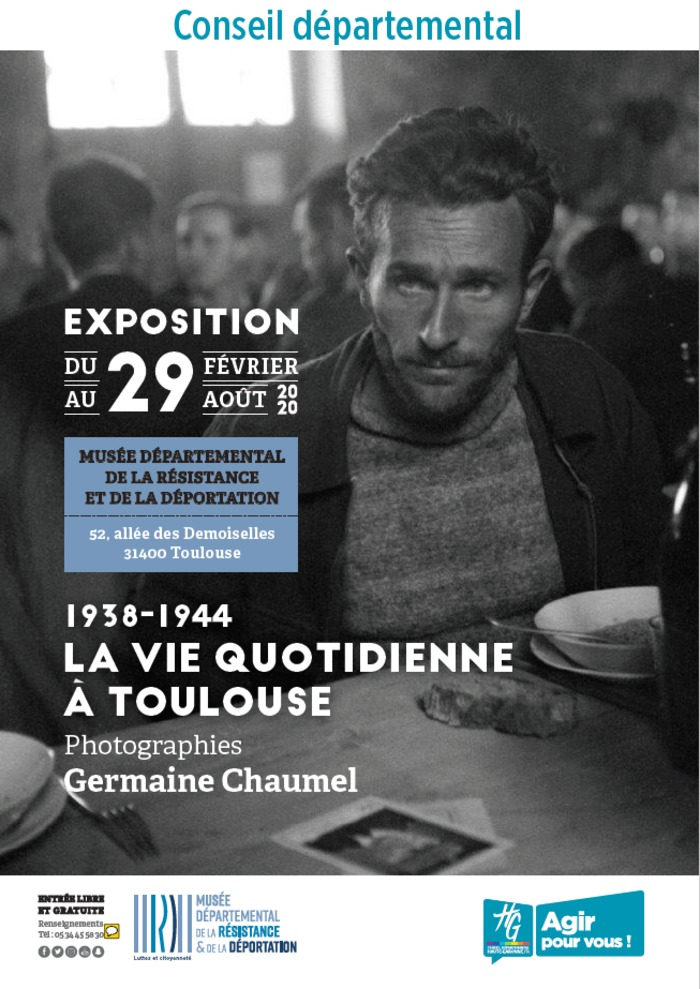 1938-1944 La vie quotidienne à Toulouse, photographies de Germaine Chaumel