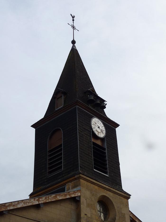 Journées du patrimoine 2019 - Visite libre de l'église de Han-lès-Juvigny, datée du XVIIIe siècle.