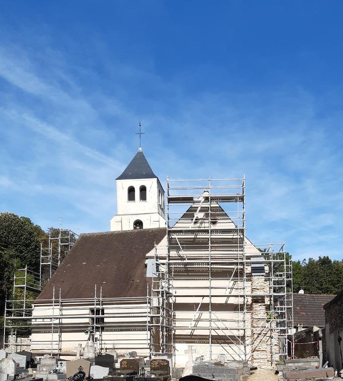 Journées du patrimoine 2019 - Matinée porte ouverte autour de la restauration de l'église Saint-Antoine-Saint-Sulpice