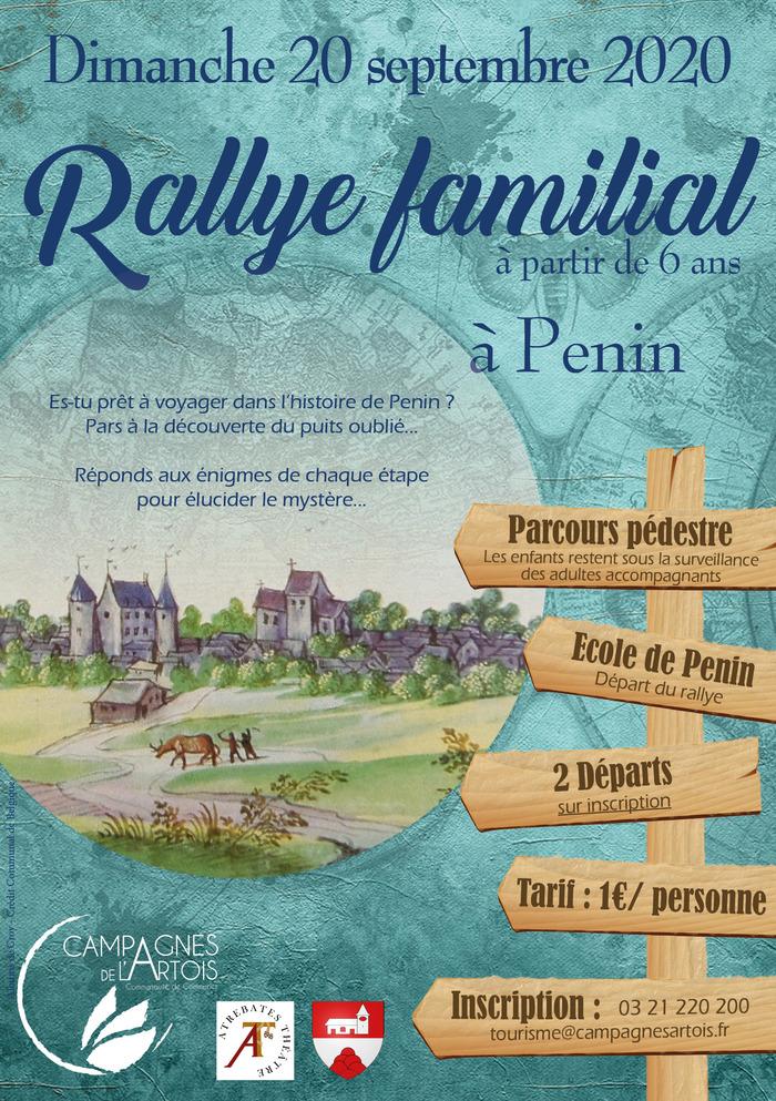 Journées du patrimoine 2020 - Rallye Familiale