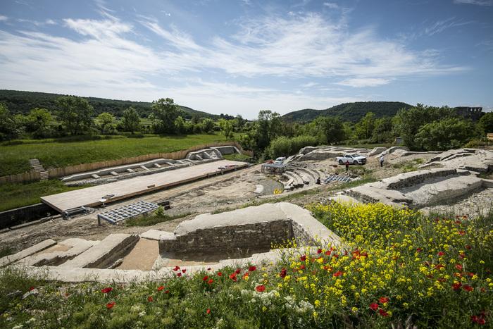 Journées du patrimoine 2020 - Inauguration officielle du théâtre antique d'Alba-la-Romaine