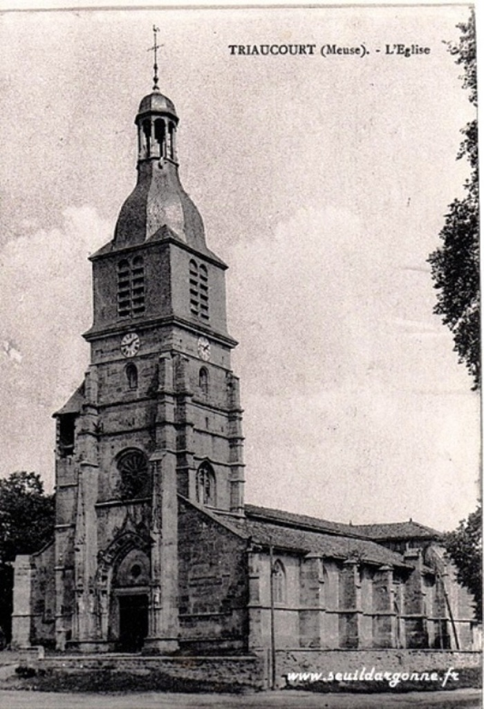 Journées du patrimoine 2019 - Visite de l'église Saint Nicolas de Triaucourt