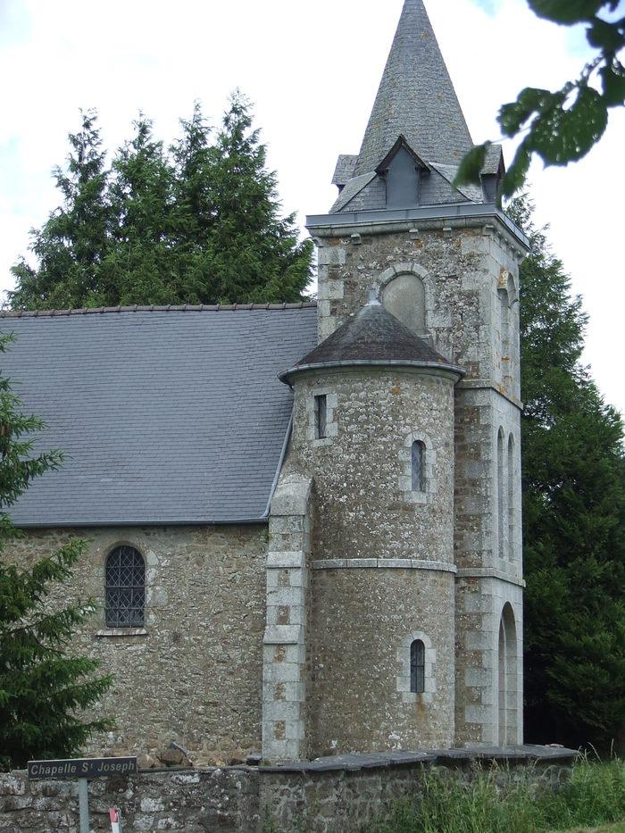 Journées du patrimoine 2020 - Visite de la chapelle St-Joseph
