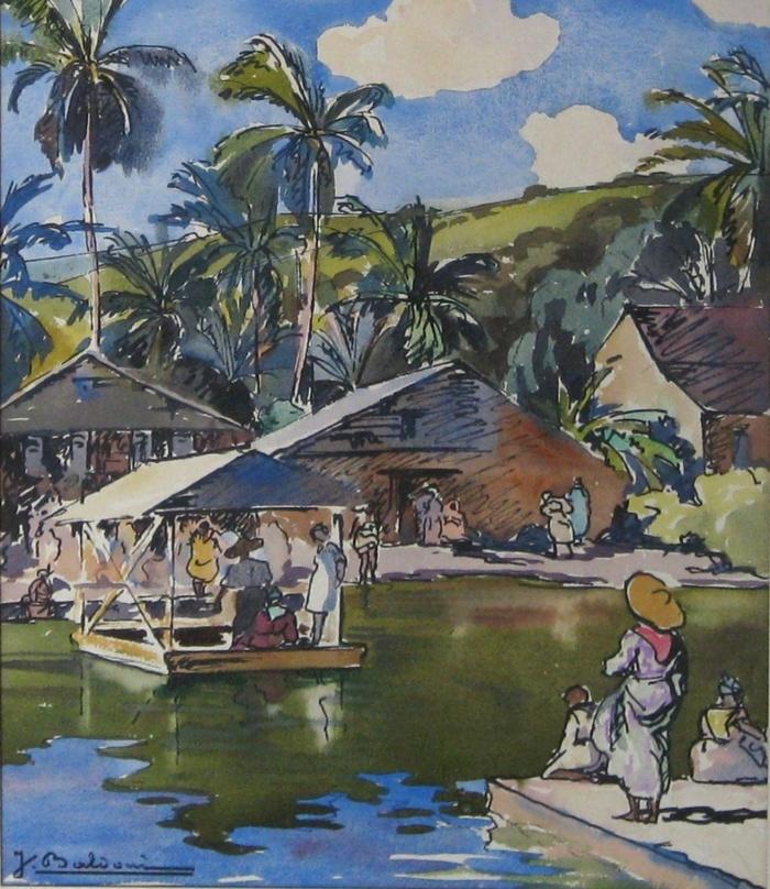 Journées du patrimoine 2019 - Panorama des Beaux-Arts du XVIe siècle à nos jours privilégiant les artistes liés à la Guadeloupe. Peintures, sculptures, dessins.