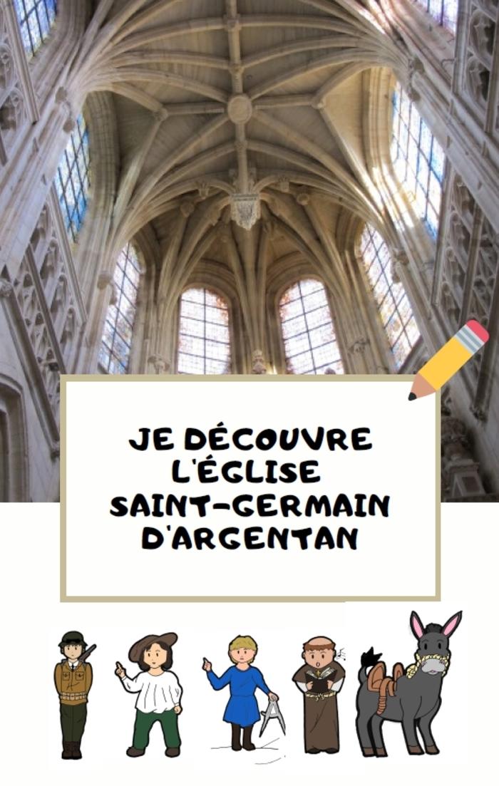 Journées du patrimoine 2020 - Animation jeune public : livret-jeux découverte de l'église Saint-Germain