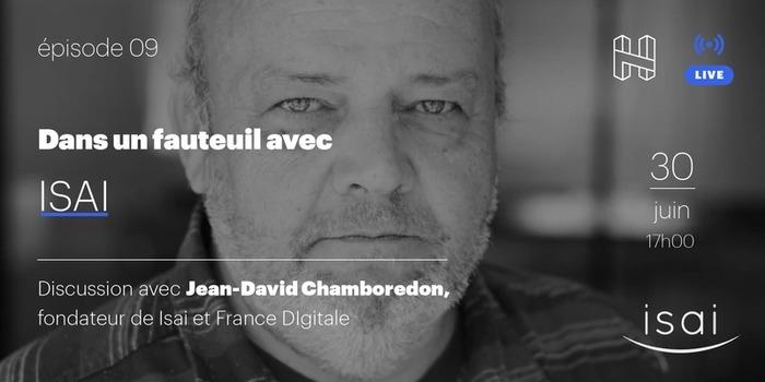 Dans un fauteuil avec Jean-David Chamboredon