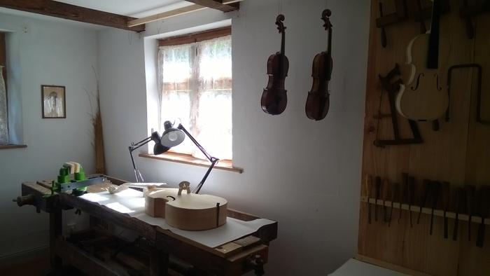 Journées du patrimoine 2020 - Les talents de Lautenbach : Jacques Fuchs, luthier