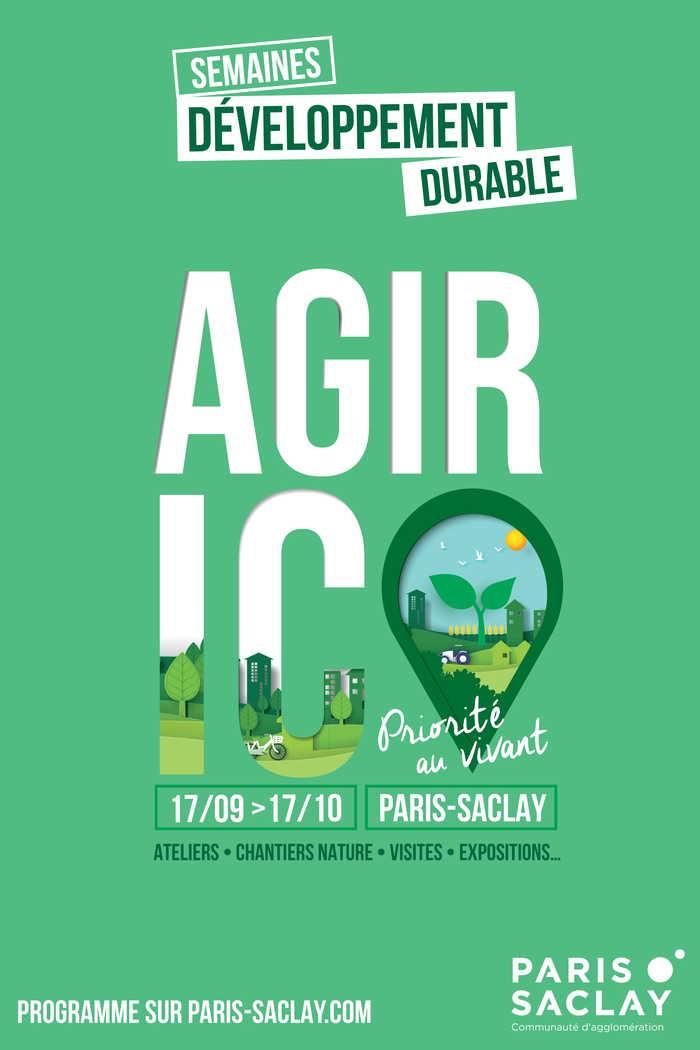 Semaine du développement durable par la communauté d'agglomération de Paris-Saclay