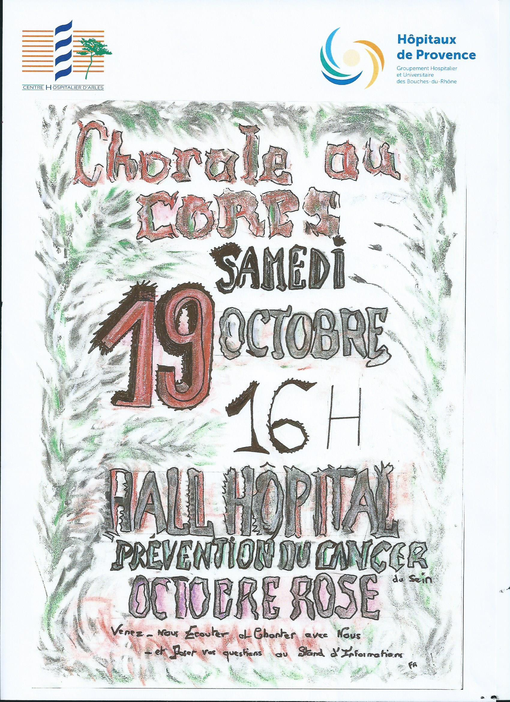"""Dans le cadre d'Octobre Rose, """"Chorale au corps"""" interprétera de magnifiques chansons populaires."""