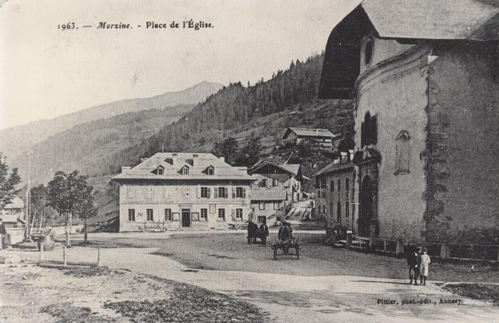 Journées du patrimoine 2019 - Morzine de 1951 à 1964 à travers la caméra de l'abbé Charlet