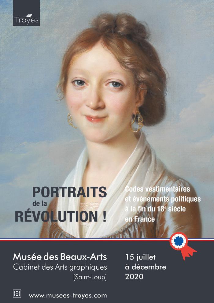 Journées du patrimoine 2020 - Exposition «Portraits de la Révolution!»