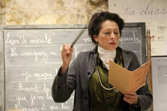 Journées du patrimoine 2019 - L'école avec Mademoiselle Marguerite...