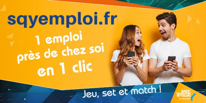 SQYEMPLOI.FR, UN OUTIL GRATUIT POUR RECRUTER LOCALEMENT