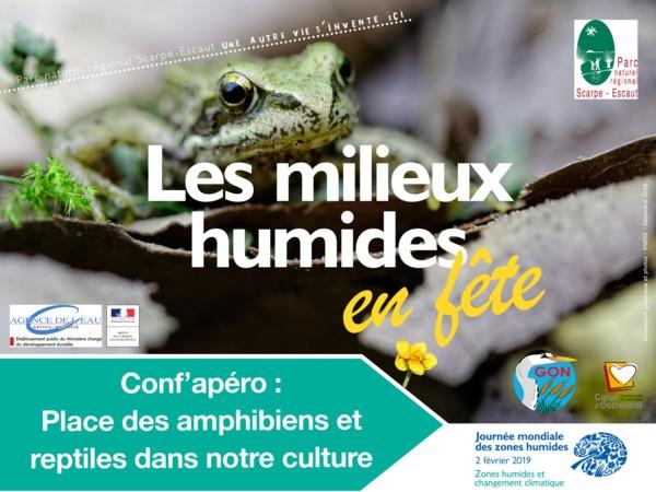 Conf'apéro sur les amphibiens et reptiles
