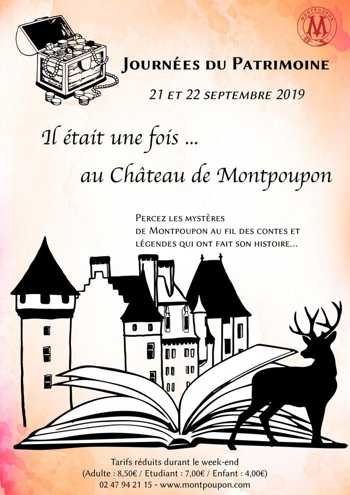 Journées du patrimoine 2019 - Percez les mystères de Montpoupon au fil des contes et légendes qui ont fait son histoire.