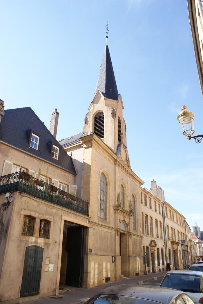 Journées du patrimoine 2019 - Visite libre de l'église Luthérienne de Metz - Confession d'Augsbourg