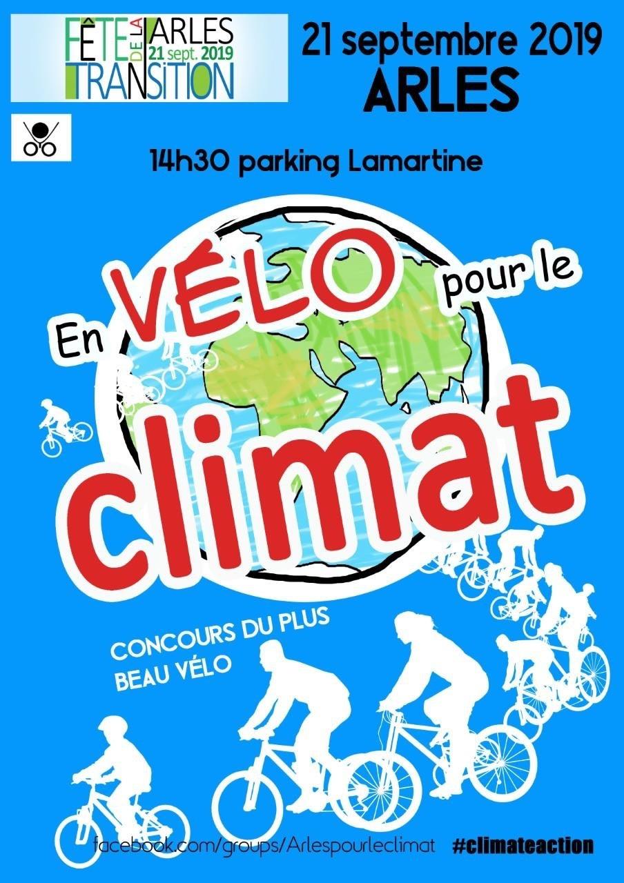 Manifestation  pour le Climat en vélo