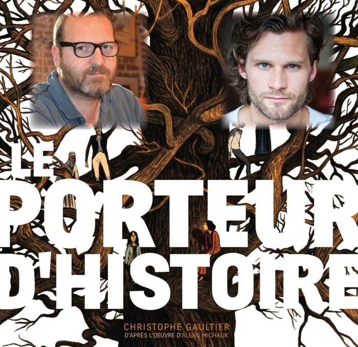 Journées du patrimoine 2020 - Le Porteur d'Histoire, Rencontre avec Alexis Michalik et Christophe Gaultier