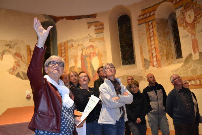 Journées du patrimoine 2019 - Visite du village et découverte des fresques médiévales de l'église