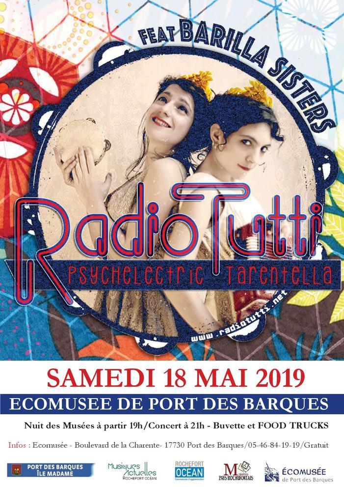 Nuit des musées 2019 -Soirée concert à l'écomusée de Port des Barques