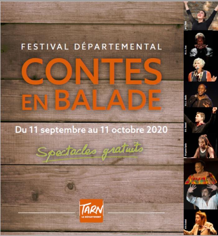 Spectacle par Maggy Faraux / En partenariat avec la médiathèque départementale du Tarn / Dans le cadre de Contes en Balade