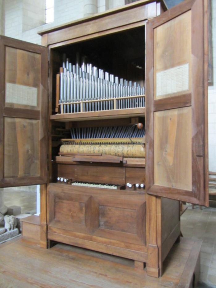 Journées du patrimoine 2019 - Audition des chantres d'Airvault accompagnés de l'orgue à cylindres