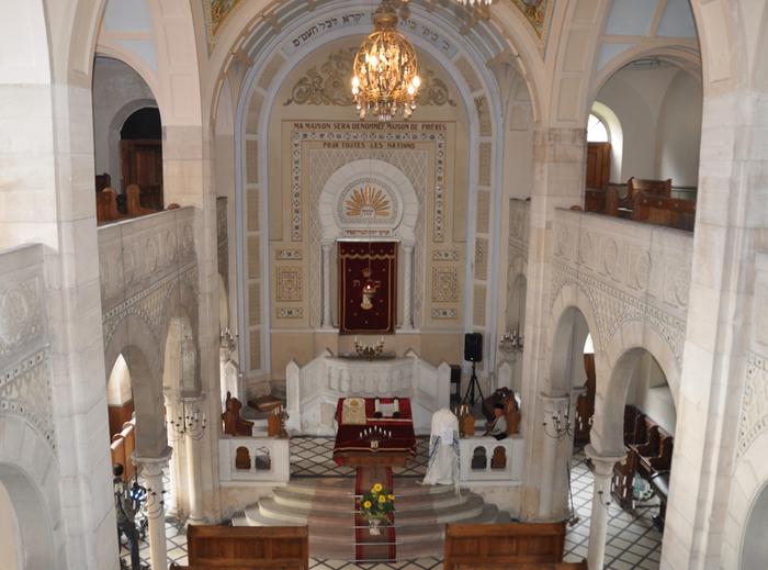 Journées du patrimoine 2019 - Visite de la synagogue