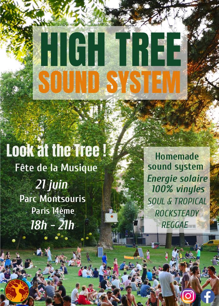 Fête de la musique 2019 - High Tree sound system - Look at the Tree