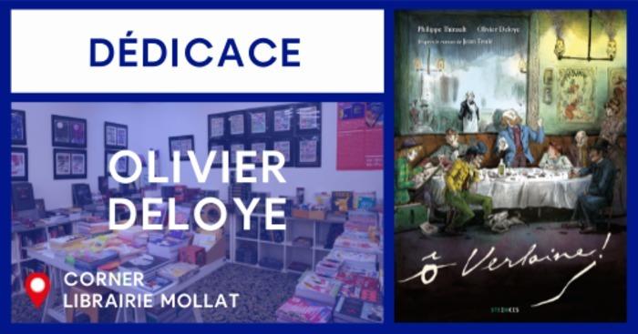 DÉDICACE D'OLIVIER DELOYE